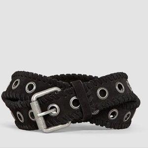 AllSaints Riley Black M/L Belt